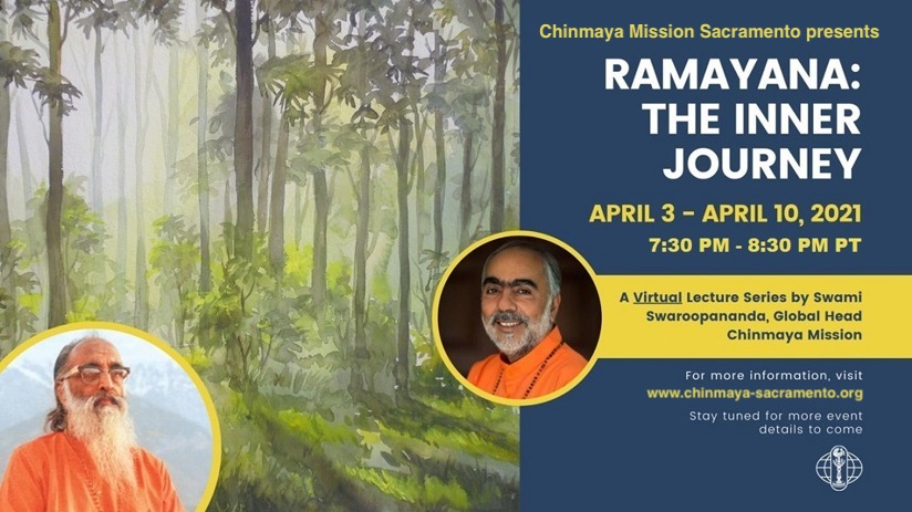 Virtual Jyana Yajna by Swami Swaroopananda from Apr 3rd to Apr 10